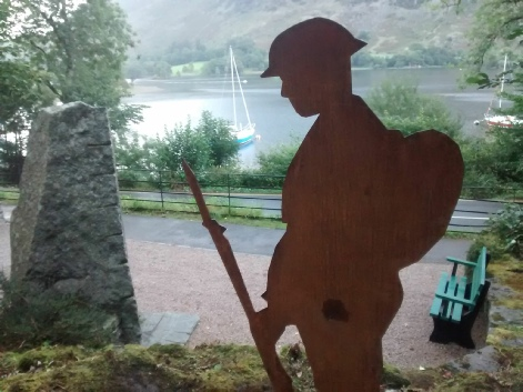 John WW1 Sculpture Patterdale