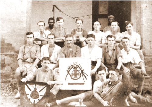 Platoon No.6 of 'B' Company 2nd/4th Border Regiment whilst in India