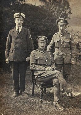 The Thompson Brothers in World War One