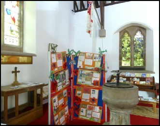 WWI Exhibition at St Patrick's Church Patterdale