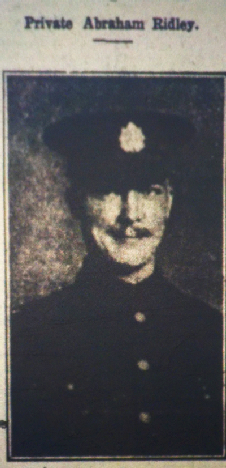 Private Abraham Ridley