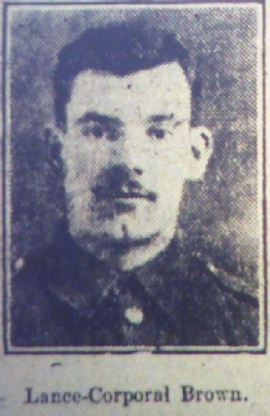 Lance Corporal Richard Brown MM