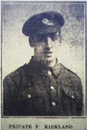 Private Fred Kirkland