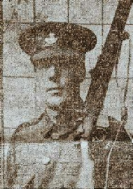 Private Oliver Readshaw