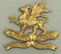 11th Battalion Border Regiment Cap Badge