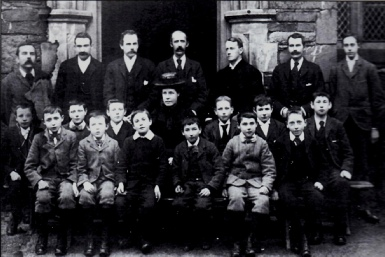 Patterdale School Children and Governors in the 1890s