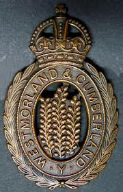 Cap Badge of the Cumberland and Westmorland Yeomanry