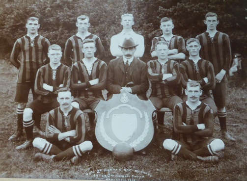 William Scoon - Border Regiment Football Team 1909