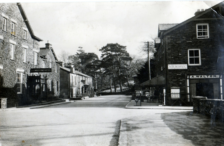 Walton's store and post office in Glenridding. We believe this picture was taken in the 1920s