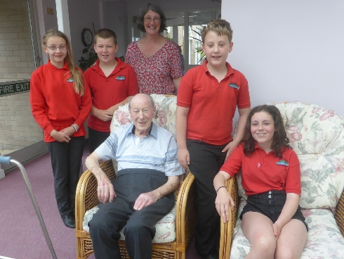 Meeting 102 year old Tommy Coward