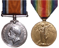War Medal and Victory Medal