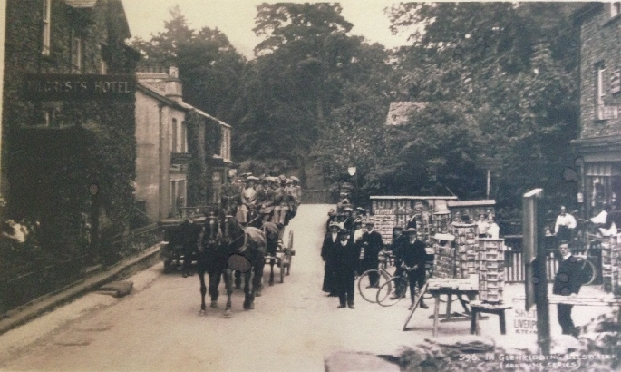Glenridding c.1900 Picture courtesy of Mrs Ann Pool
