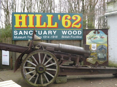 Hill 62 and Sanctuary Wood Museum - Photo © Rob Shephard