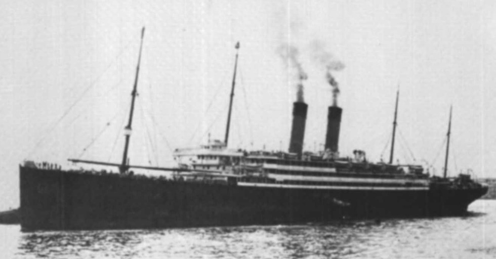 The Liner Cedric  which first took Eric to New York